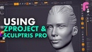 Optimize Your Sculpting with ZProject and Sculptris Pro - Quick Tip