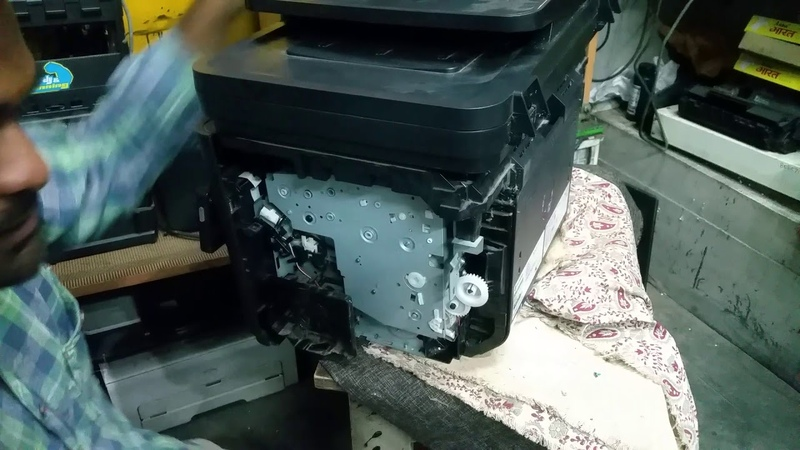 How to fix paper jam problem in HP mfp m226dn part 1
