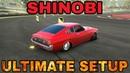 Shinobi Ultimate Setup Test Drive! Toyota Celica CarX Drift Racing