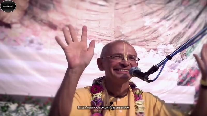 Бхакти Вигьяна Госвами Махарадж (Вадим Тунеев) - Встреча с учениками на Фестивале Садху-санга