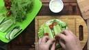 Завтрак • Пита с авокадо и копченой треской