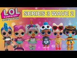 LOL Surprise Confetti Pop Wave 2 Real Dolls First Look L.O.L. Unicorn, Pharaoh Babe, Punk Boi