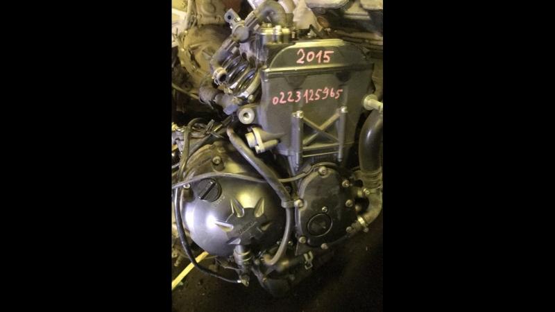 Проверка контрактного двигателя Yamaha R6 J512E перед отправкой клиенту
