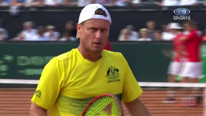 Lleyton Hewitt had a blinder in what could be his final ever match