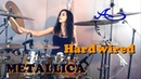 METALLICA - Hardwired drum cover by Ami Kim (23rd)