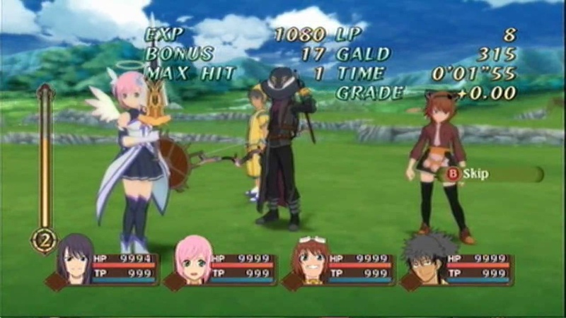 Tales of Vesperia - Victory Quotes - Our Weapons Are Love!