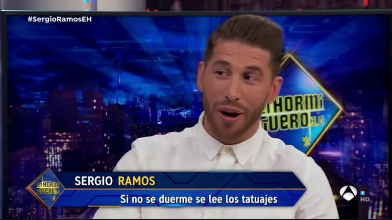 VÍDEO - EL HORMIGUERO Sergio Ramos se rinde ante su hijo Marco en El Hormiguero 3.0 Me siento como reencarnado en él ANTENA 3 T