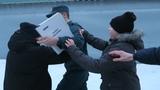 Школьник материт полицейского МУСОР паршивый ПОШЕЛ НА XXX Анти грифер шоу
