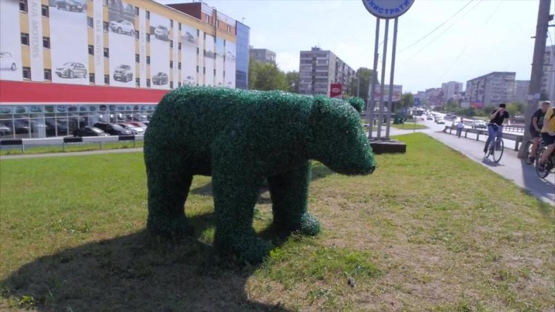Зелёные фигуры садовые и парковые топиарии Тюмень