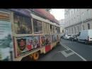 Трамвай-трактир Аннушка на Чистых прудах в Москве