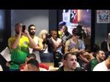 Чемпионат мира. День первый: взвешивание и жеребьёвка