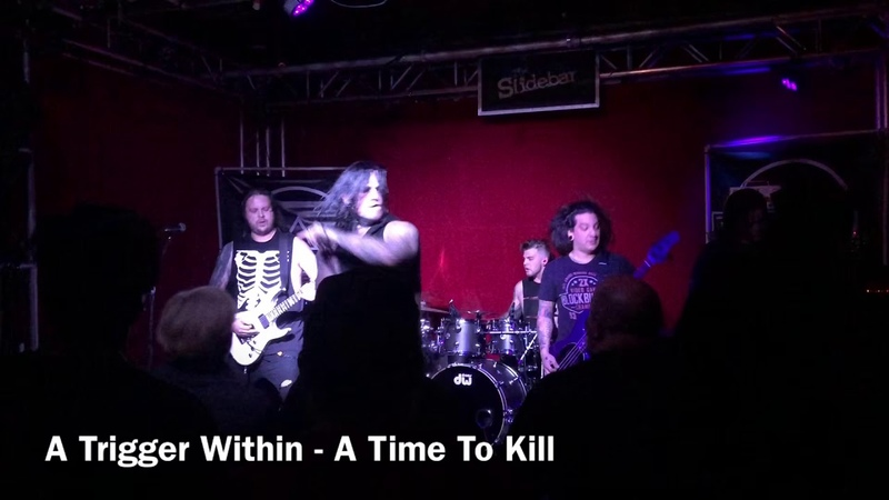 A Trigger Within - A Time To Kill (Live @ Slidebar, Fullerton, CA 28.10.2018)