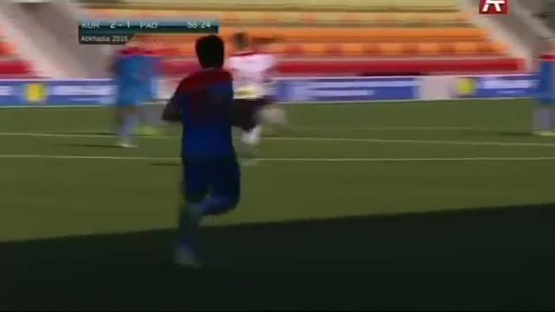 Чемпионат Мира по футболу ConIFA 2016. Курдистан - Падания. 1_⁄4 финала. 02.06.2016