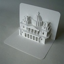 Открытки киригами с архитектурными сооружениями