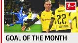 Jacob Bruun Larsen - September 2018's Goal of the Month Winner