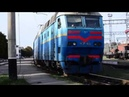 ЧС7-169 проследовал ст.Запорожье-2 с поездом Москва-Кривой Рог