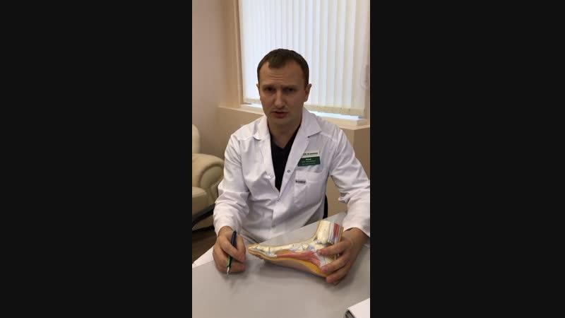 Прямой эфир Исаев О.Н. об эндопротезировании суставов и лечении деформации стопы