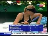 Maria Sharapova vs Martina Hingis (2006-02-24-Dubai-QF)