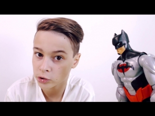 Мир мальчишек  •  ФЛЭШ, БЭТМЕН и ДАНЯ - лучшие учителя! ДЕСЕПТИКОНЫ учатся быть супергероями!