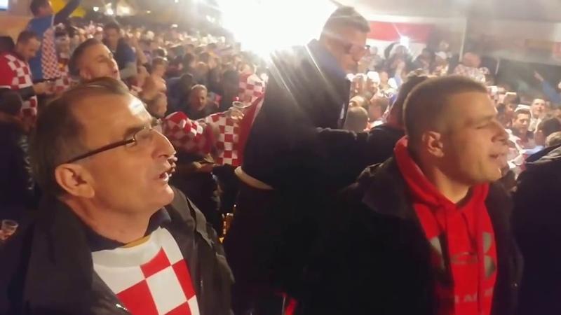 Hrvatski navijači - Neka pati koga smeta, Hrvatska je prvak svijeta