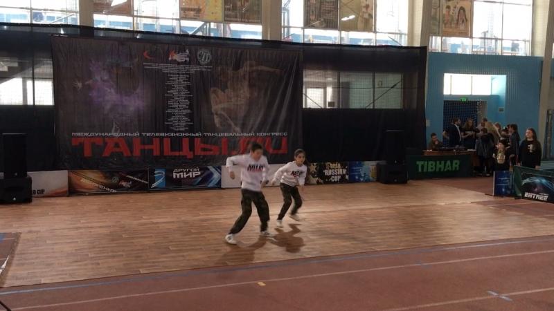 DS Real Team/ hip hop/ choreographer choreographer Filicky Vitaly/ Танцы.ru 2018
