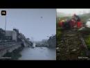 В Генуе обрушился мост. Погибли десятки человек