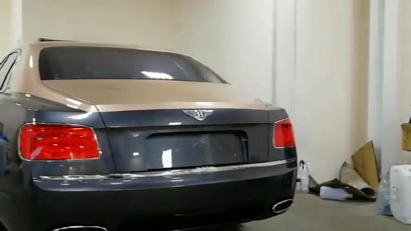 Bentley Flying Spur - керамическое покрытие Opti-Coat Pro