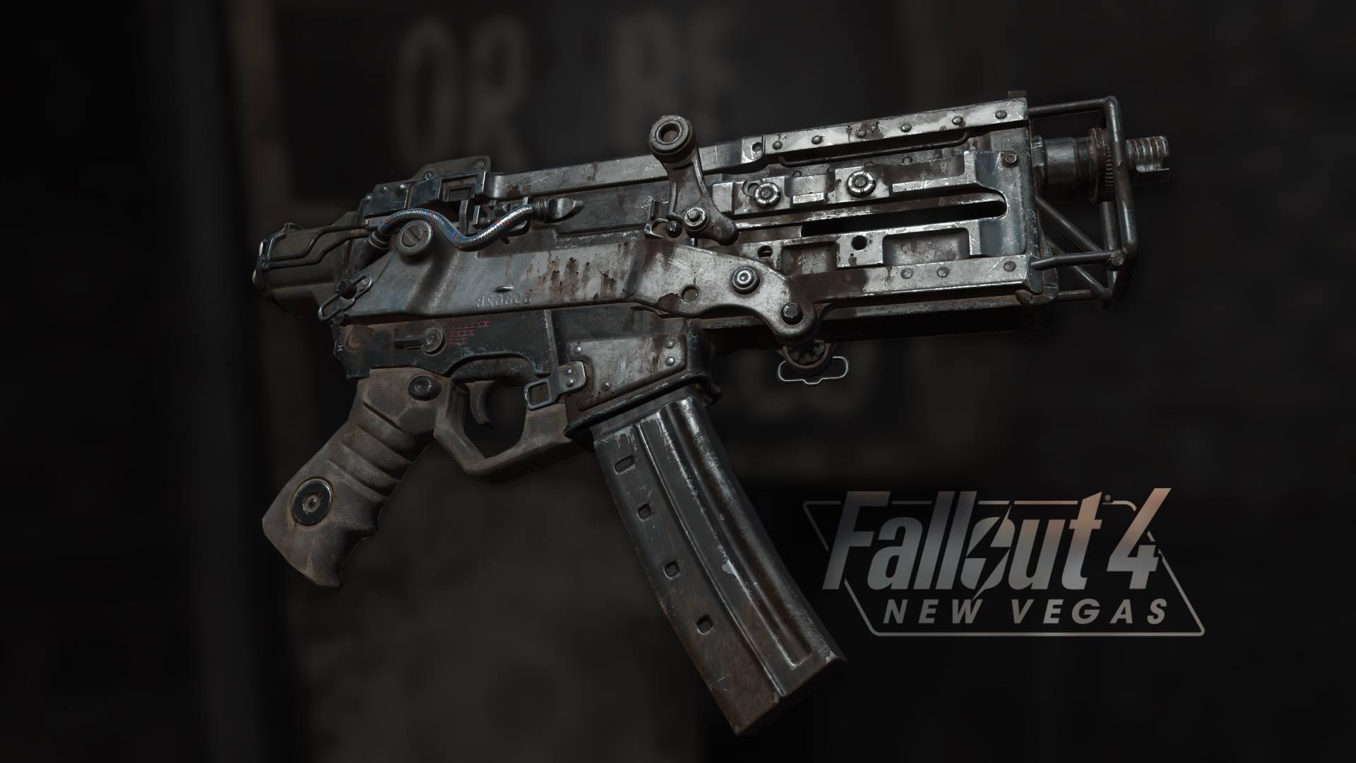 Работа над Fallout 4: New Vegas продолжается, ниже представлены стволы перенесенные из оригинально Fallout: New Vegas