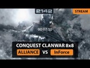 BF2142 PCW CQ 8x8 ALLIANCE vs InForce