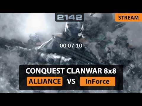 [BF2142] PCW CQ 8x8 ALLIANCE vs. InForce