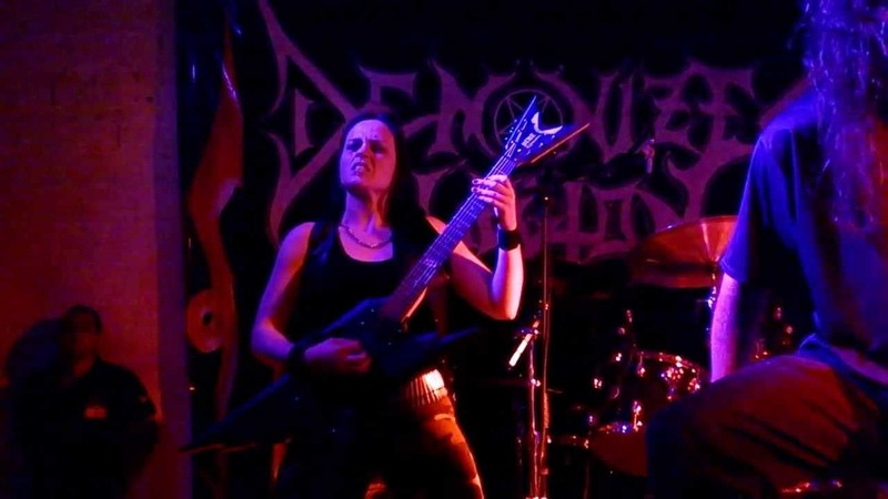 Demonized Legion - Stripped, Raped And Strangled LIVE (Cannibal Corpse Cover)