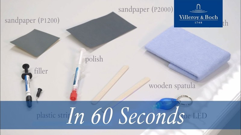 In 60 seconds Reparation acrylic Quaryl® Villeroy Boch