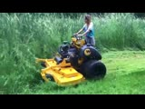 This is wright mowers dual rear wheel concept. I tested it for 3 months & took it through swamps, tall grass, extreme slopes -ba