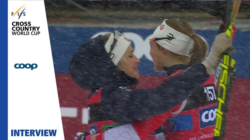 Johaug Weng | We have a strong team | Ulricehamn | Ladies Relay | FIS Cross Country