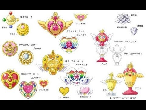 Sailor Moon is all reincarnation in one transformation