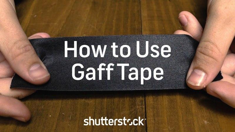 What is Gaff Tape? | Shutterstock Tutorials