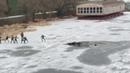 Тамбов 21 11 18 рыбак ушел под лед