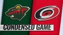 03 23 19 Condensed Game Wild @ Hurricanes