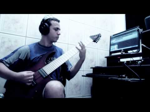 BRUTAL TECH DEATH METAL 8 STRINGS - Lucas Marson - Incarne studio update working in process