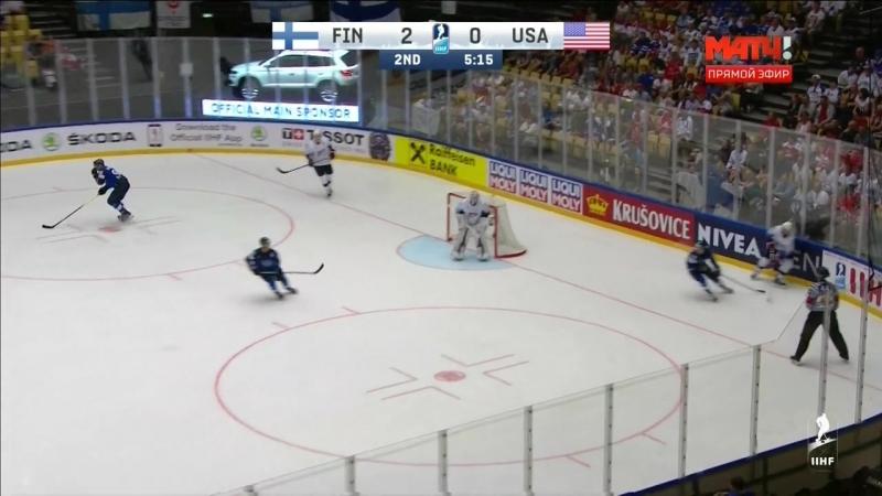 Чемпионат мира 2018. Группа В. 7-й тур. Финляндия - США. 15 мая 13.15
