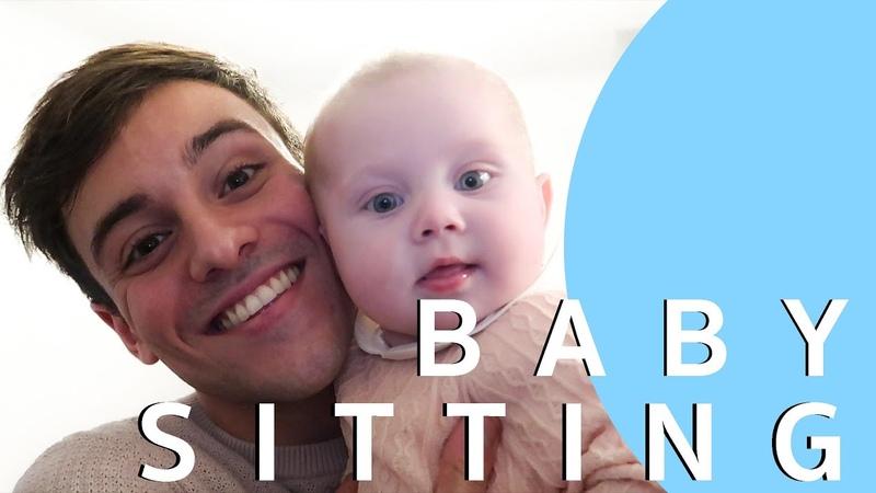 First Baby Sitting Experience *Baby Gymnastics* I Tom Daley