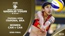 Women's Semi-Final - CAN v CAN - FIVB Beach Volleyball World Tour - Itapema (BRA) - 4*