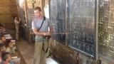 Teaching some English in Myanmar