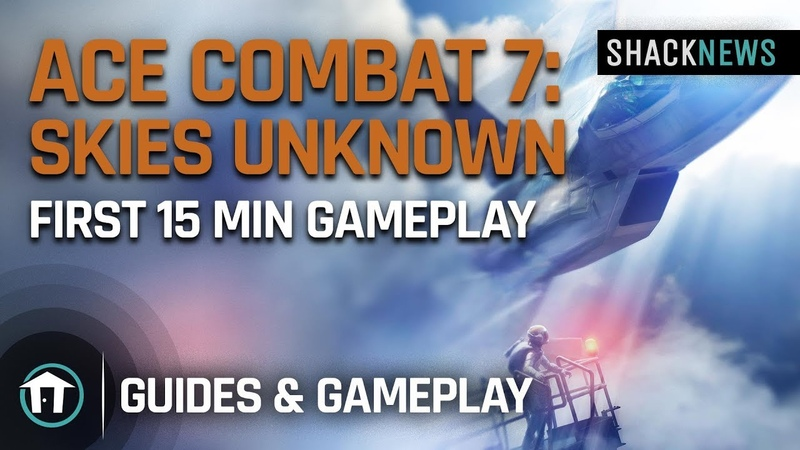 Ace Combat 7 Skies Unknown First 15 min Gameplay
