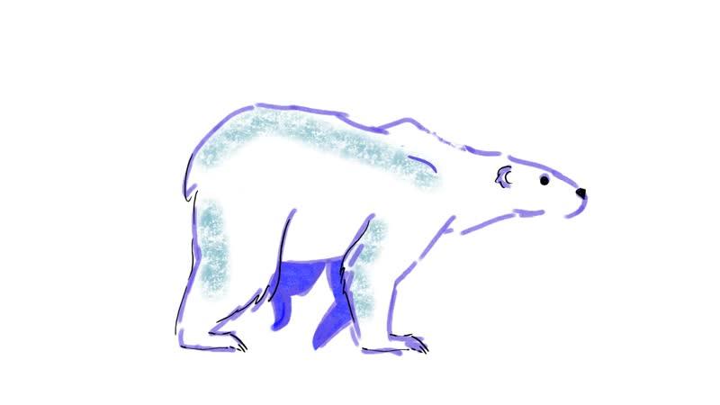 тхтк анимация походка медведя