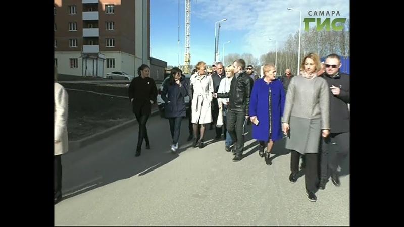 Новая школа в микрорайоне Новая Самара будет открыта в следующем году. Уже выделено место для строительства.