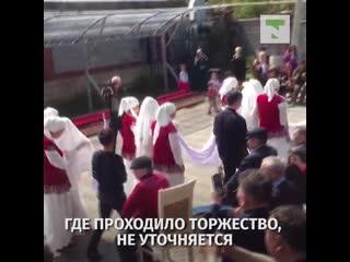 Видео необычной свадьбы появилось в Сети