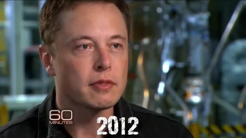 Interview with Elon Musk, TV-Show 60 Minutes (2012, CBS, Russian voiceover)