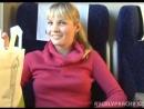 Блондинка мамаша трахаеться в поезде после того, как сделала глубокий минет