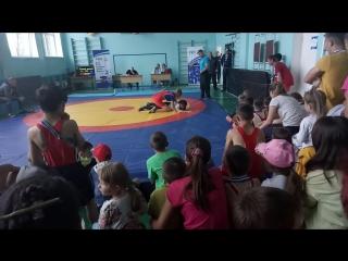 Соревнования по греко - римской борьбе. 6 традиционный Наумовский турнир.